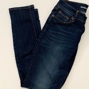 Old Navy Women's Mid-rise Curvy Skinny Jeans